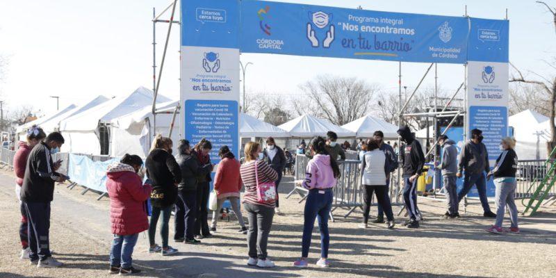 La Municipalidad De Córdoba Atendió Más De 125 Mil Consultas A Través De Los Operativos Sanitarios En Cuatro Meses