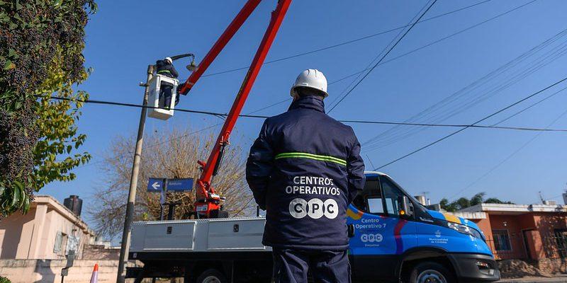 A Un Mes De Su Funcionamiento, Los Centros Operativos Repararon 455 Luminarias Y Retiraron 741 Toneladas De Residuos