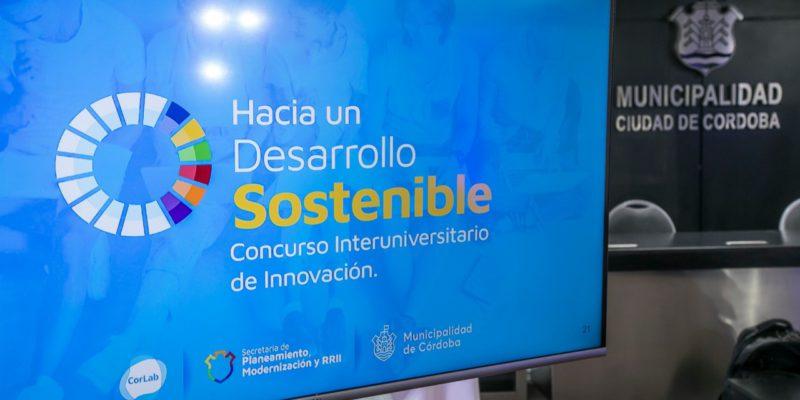 """La Municipalidad Lanzó El Concurso Interuniversitario De Innovación """"Hacia Un Desarrollo Sostenible"""""""