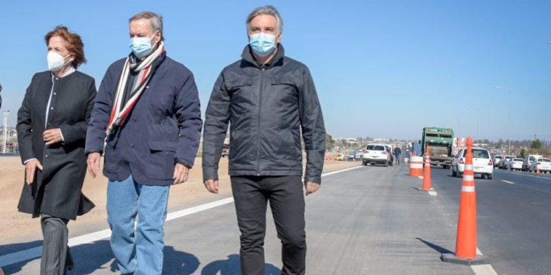 Circunvalación: Llaryora Acompañó A Schiaretti En La Habilitación De Un Nuevo Tramo Del Tercer Carril En El Arco Sur De La Ciudad