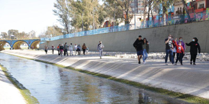 Con Cupos Completos, La Municipalidad Realizó Un Nuevo Trekking Urbano Cultural Por La Costanera