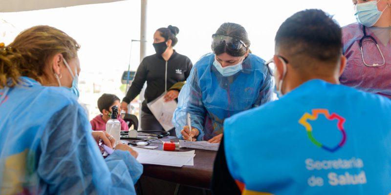 El Operativo Sanitario Llega A Los Barrios Ampliación San Carlos Y Alto General Paz