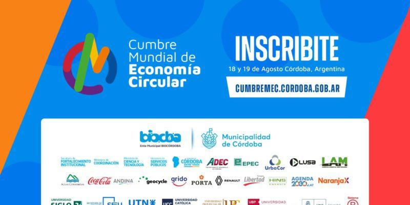 El Miércoles 18 De Agosto Comienza La Cumbre Mundial De Economía Circular