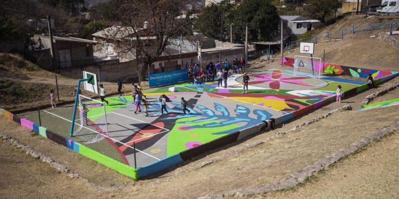 La Municipalidad Recuperó Un Playón Deportivo En Barrio Alto General Paz