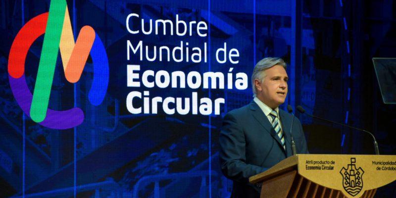 Llaryora Abrió La Primera Cumbre Mundial De Economía Circular Y Llamó A Trabajar En Defensa Del Ambiente