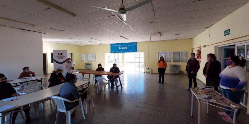 La Municipalidad Y La UPC Capacitan A Referentes De Organizaciones Comunitarias
