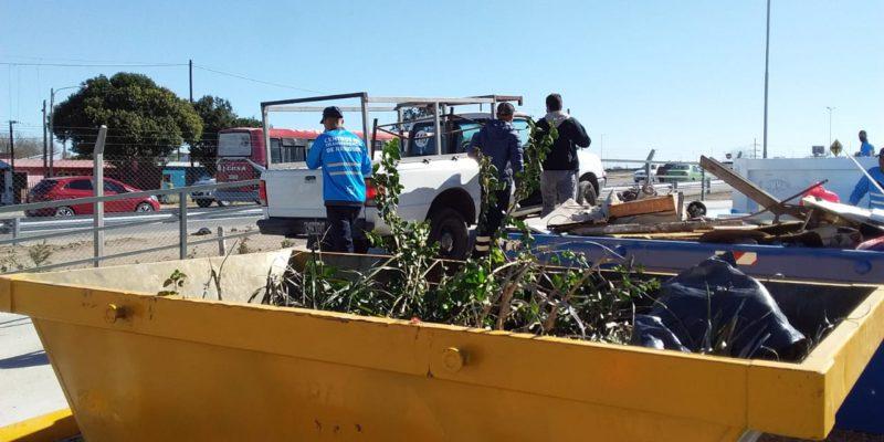 En Un Mes, El Centro De Transferencia De Rancagua Procesó 480 Toneladas De Residuos Secos