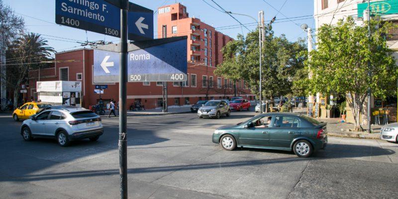 Finalizó La Rehabilitación De 1.600 Metros De La Calle Roma