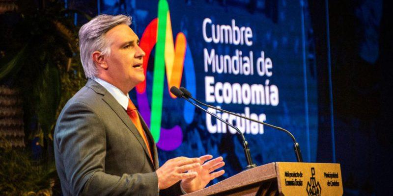 Llaryora Anunció La Segunda Cumbre Mundial De Economía Circular Para Junio De 2022