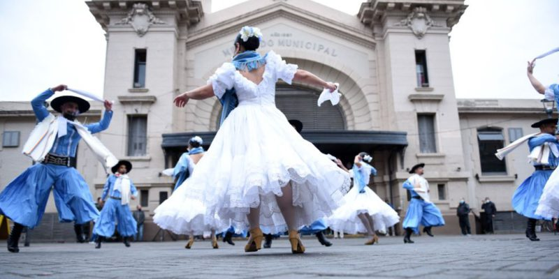 El Ballet Municipal Homenajeó Al Chango Nieto En El Mercado Norte
