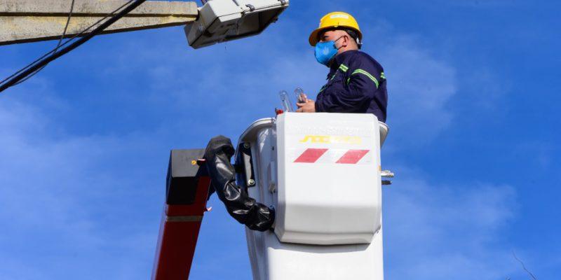 En El Primer Mes De Funcionamiento, El Centro Operativo Chalet San Felipe Reparó 391 Luminarias