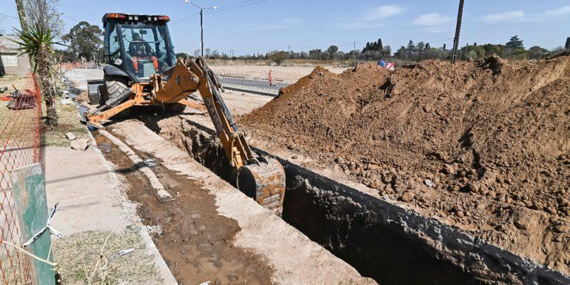 Villa Revol Anexo: Instalan Un Aliviador Cloacal Que Beneficiará A Vecinos Y Al Polo Sanitario