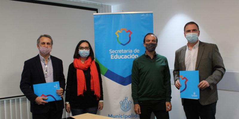 La Secretaría De Educación Firmó Un Acta Acuerdo Con La Fundación Arcor