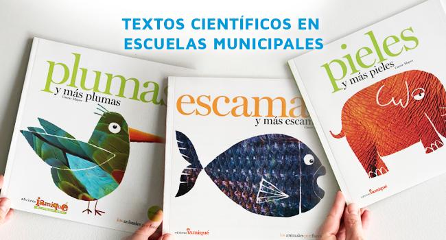 Jardines Maternales Y Escuelas Municipales Incorporarán Textos Científicos Infantiles A Sus Bibliotecas