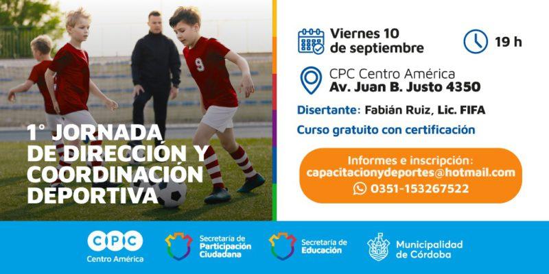 Se Llevará A Cabo La Primera Jornada De Dirección Y Coordinación Deportiva