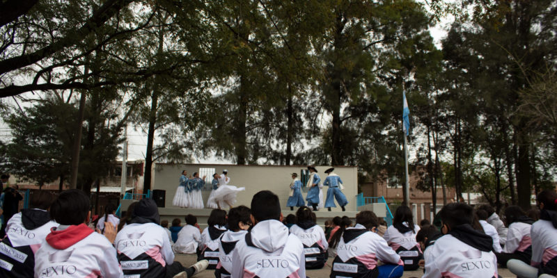 """En El Marco Del Programa """"Aprendo Con Cultura"""" Se Presento El Ballet Municipal En La Escuela Municipal Justo Paéz Molina"""