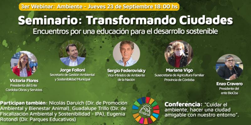 Tercer Instancia Transformando Ciudades: Ambiente Y Consumo Responsable