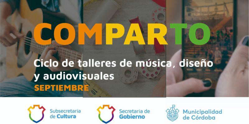 """Nuevo Ciclo """"Comparto"""": Talleres Gratuitos De Música, Diseño Y Video En La Casona Municipal"""