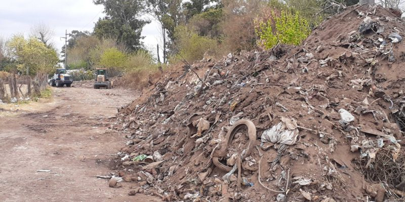 El CPC Argüello Limpió El Basural De Barrio Lilí Benítez Quintas II