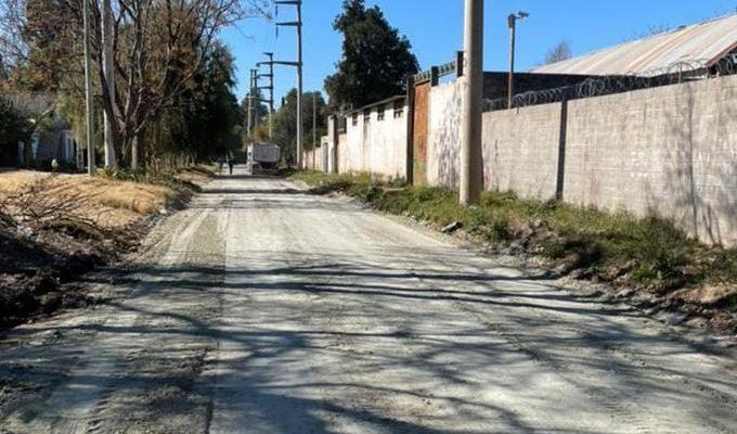 El Municipio Repara Una Calle Que Se Encontraba Intransitable, Inundada Y Llena De Basura