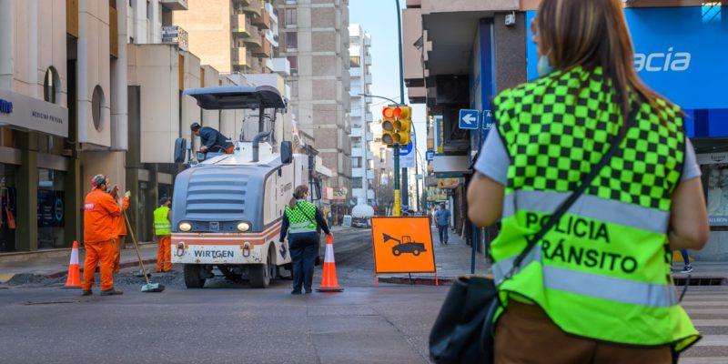 El Martes 7 De Septiembre, Se Restringe La Circulación De Tres Carriles De La Calle Nicolás Avellaneda