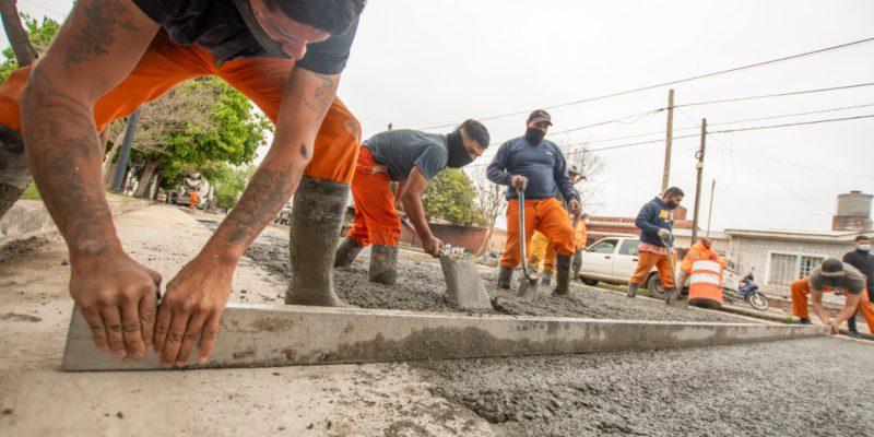 Plan De Bacheo: Rehabilitan Más De 500 Metros De La Avenida Cornelio Saavedra