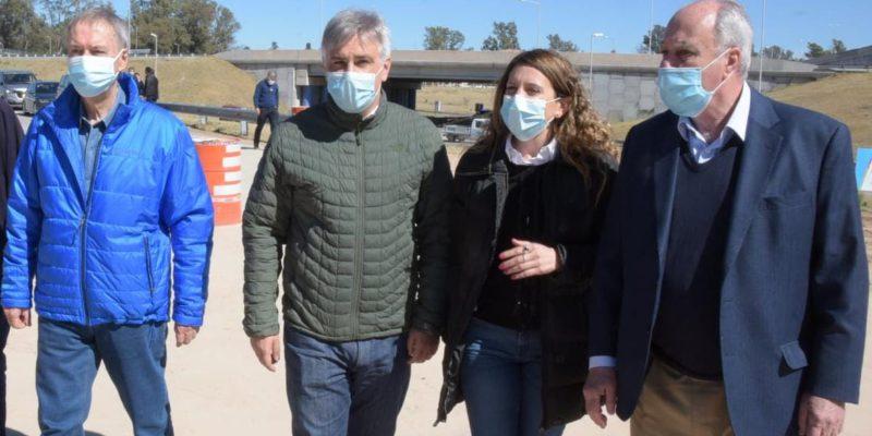 Llaryora Y Schiaretti Visitaron Las Obras Que Ambas Jurisdicciones Ejecutan En El Tropezón