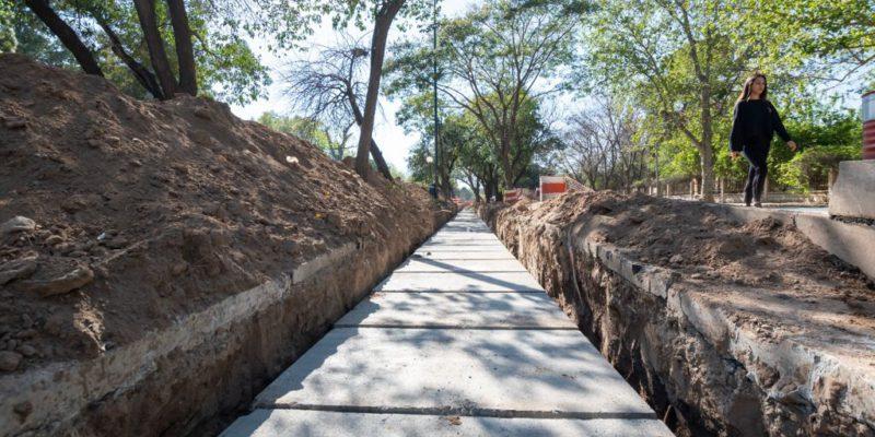 Parque Sarmiento: Avanza Una Obra Fundamental Para Evitar Que Residuos Lleguen Al Lago