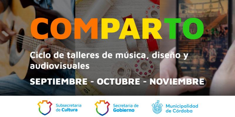 """Se Suman 31 Talleres Gratuitos De Música, Diseño Y Video Al Ciclo """"Comparto"""""""