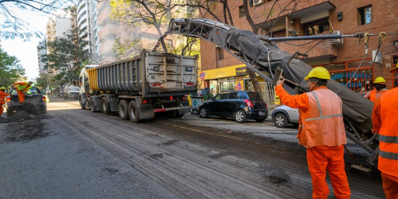 Continúa La Rehabilitación De Calles De Alto Tránsito En Barrio Nueva Córdoba