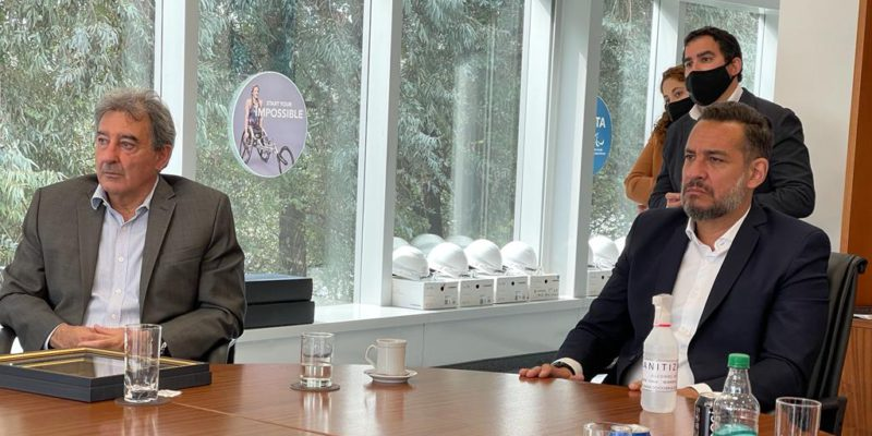 Comitiva cordobesa se reunió con el presidente de Toyota Argentina