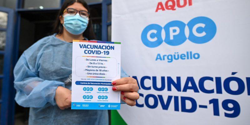 Desde Hoy, Cuatro CPC Se Suman Como Centros De Vacunación Covid-19 Para Mayores De 18 Años
